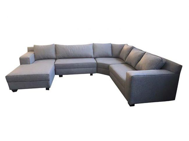 Valentina U shape couch